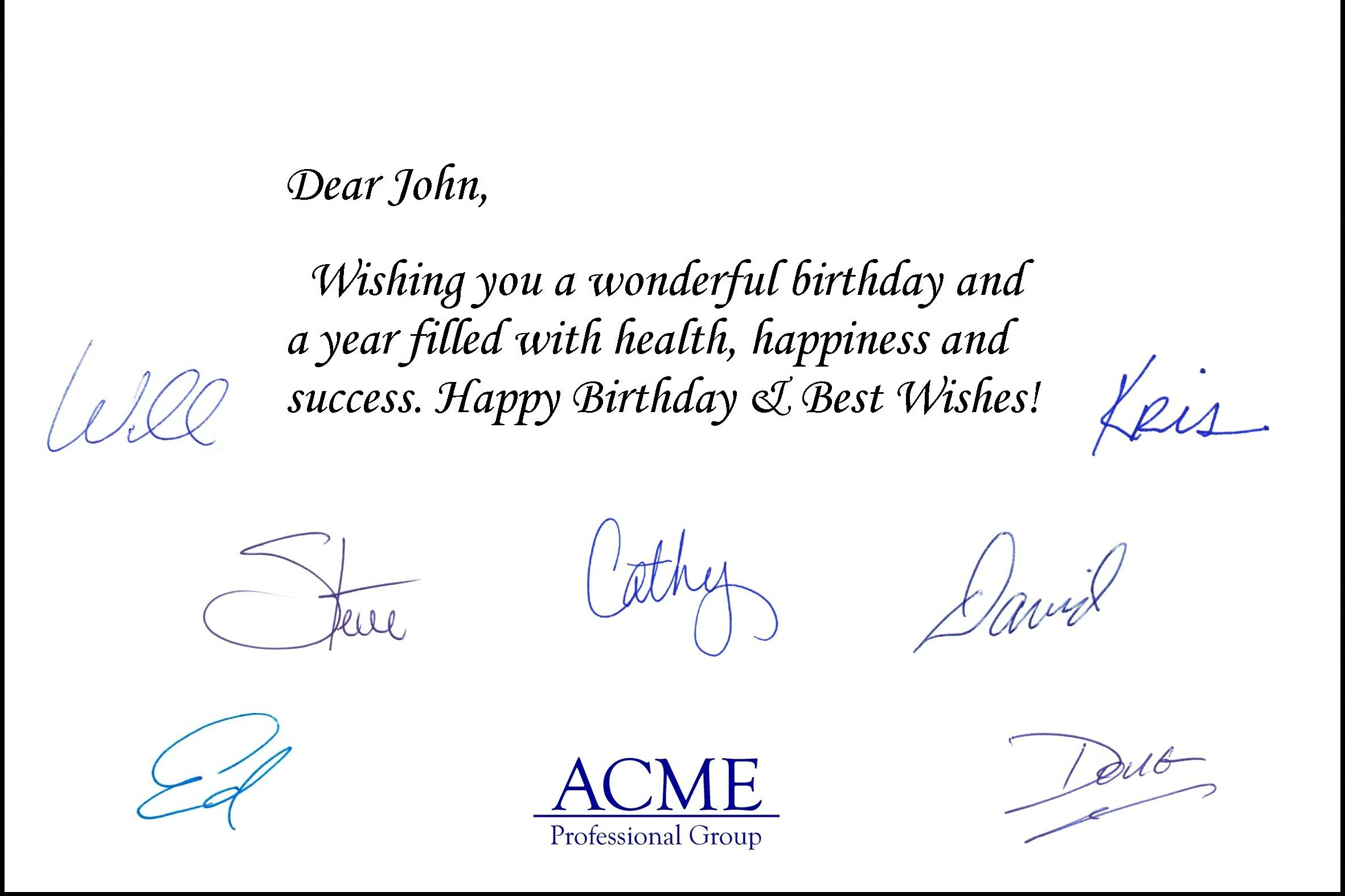 Automated Birthday Card Services For Professionals